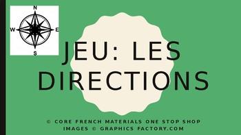 Level 4 Jeu: Les directions