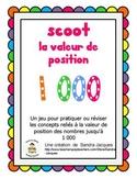Jeu Scoot - La valeur de position (Place Value Scoot in French)