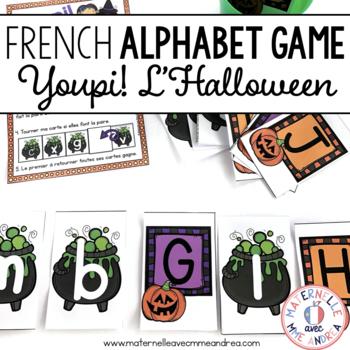 Jeu Youpi! C'est l'Halloween - FRENCH Halloween themed gam