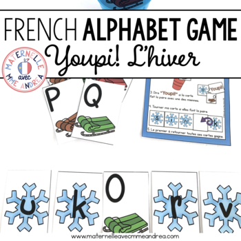 Jeu Youpi! C'est l'hiver - FRENCH Winter themed game/liter