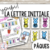Jeu Youpi! - FRENCH Beginning Letter Matching Game for Pâq