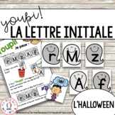 Jeu Youpi! - FRENCH Beginning Letter Matching Game for l'H