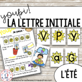 Jeu Youpi! - FRENCH Beginning Letter Matching Game for l'é