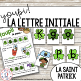 Jeu Youpi! - FRENCH Beginning Letter Matching Game for la