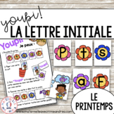 Jeu Youpi! - FRENCH Beginning Letter Matching Game for le