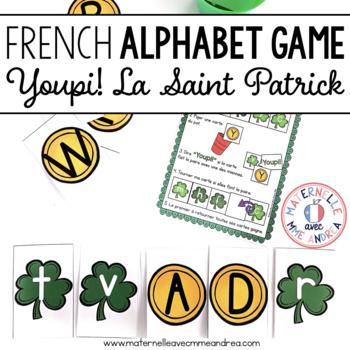 Jeu Youpi! La Saint Patrick - FRENCH St Patrick's Day them