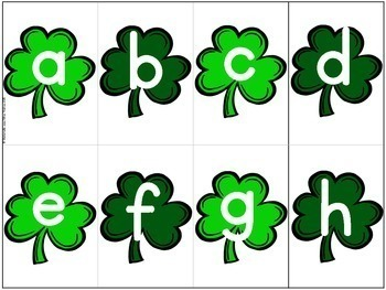 Jeu Youpi! La Saint Patrick - FRENCH St Patrick's Day themed game/centre