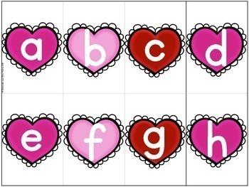 Jeu Youpi! La Saint-Valentin - FRENCH Valentine's Day themed game/centre
