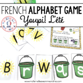Jeu Youpi! Été - FRENCH Summer themed game/literacy centre