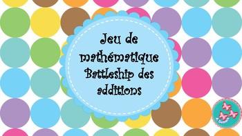 Jeu d'addition : Le battleship des additions