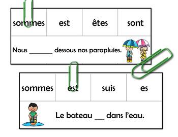 Jeu d'association - Le printemps (French FSL)
