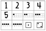 Jeu d'association des nombres de 0 à 10