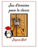 Jeu d'évasion (French Escape Room):  Joyeux Noël