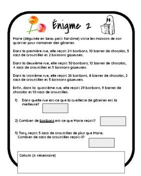 Jeu d'évasion (French Escape Room):  c'est Halloween