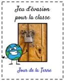Jeu d'évasion (French Escape the Room):  jour de la Terre