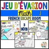 Jeu d'évasion de math 1 - French Escape Room