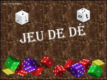Jeu de Dé - Français