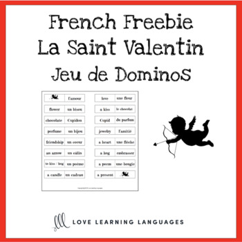 Jeu de Dominos - French Valentine's Day - La Saint Valentin