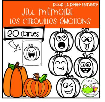 Jeu de Mémoire  {Citrouilles Émotions }