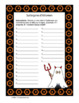Jeu de Scattergories Halloween