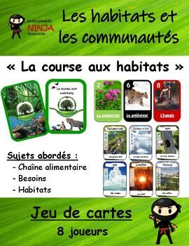 Habitats et communautés - Jeu de cartes