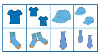 Jeu de classification - Les vêtements