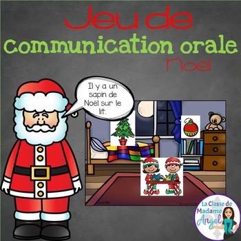 Jeu de communication orale: Noel - Oral Communication Game in French
