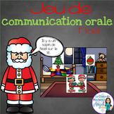 Jeu de communication orale: Noël - French Oral Communication Game
