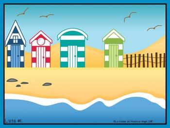 Jeu de communication orale: l'été- Oral Communication Game in French