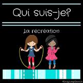 Qui suis-je? Comprehension de lecture recreation// French