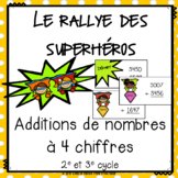 "FRENCH MATH GAME - Jeu de math ""Rallye des superhéros"" - A"