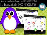 Jeu de math - L'ADDITION - La bousculade des pingouins  - (French-FSL)