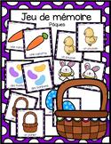 Jeu de mémoire - Pâques