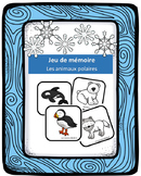 Jeu de mémoire - Les animaux polaires