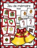 Jeu de mémoire - Noël
