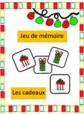 Jeu de mémoire - Noel