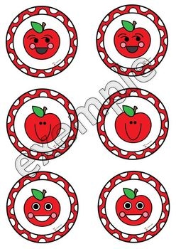 Jeu de mémoire: les pommes