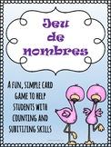 Jeu de nombres (Numbers Game) - Math Card Game