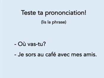 Jeu de révision, verbes comme voir, prendre, mettre, dormir, Discovering French