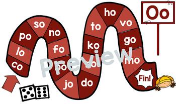 Jeu de voyelles / French vowel games [a, e, i, o, u]