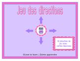 Jeu des directions - version complète