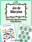 Jeu du Morpion Tic Tac Toe Boards in FRENCH