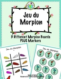 Jeu du Morpion Tic Tac Toe Boards in FRENCH