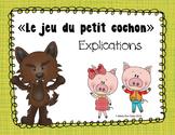 Jeu du petit cochon - Maison de paille GRATUIT!! + Explications