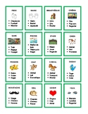 Jeu français, tabou, taboo in French, all levels of French