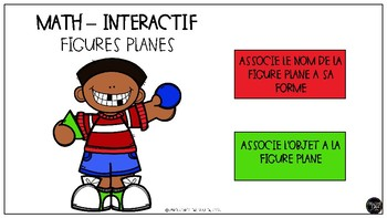 Jeu interactif sur les figures planes