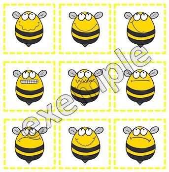 Jeu pour tout-petits: les abeilles