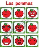 Jeu pour tout-petits: les pommes