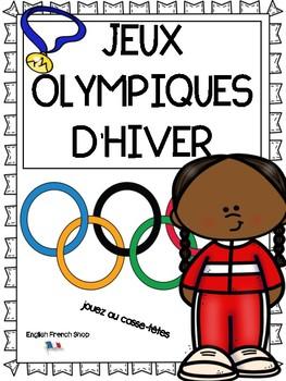 Jeux Olympiques D'Hiver - Jouez au casse-tête