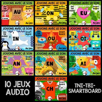 Jeux TNI AUDIO - ENSEMBLE GRANDISSANT - Jouons avec les so